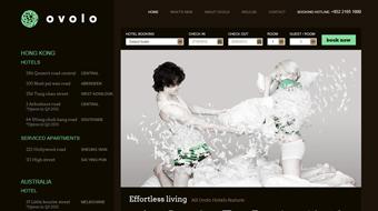 OVOLO - Web Design with CMS system development