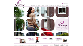 Quinny - Web Design with CMS system development