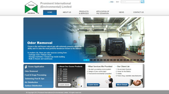 Prominent - Web Design with CMS system development