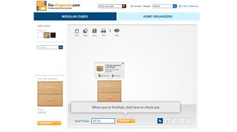 Go-organize - Web DIY mix and match combination