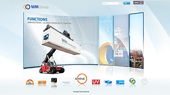 WM Group - Web Design with CMS system development