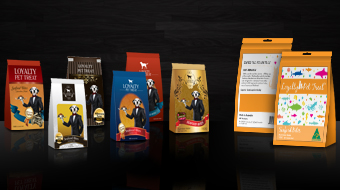 Loyalty Pet Treat - Package Design