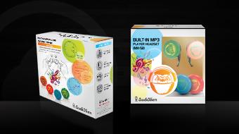 AudiAlien - Package Design
