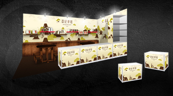 Ying Kee Tea House - Standard Booth Design
