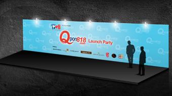 Wharf T&T Ltd. - Event Backdrop Design