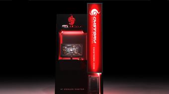 CM Storm - Display Showcase Design