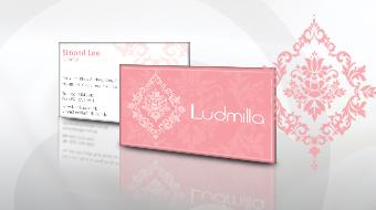 Ludmilla - Corporate Stationery Design