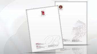 Billion Rise - Letterhead Design