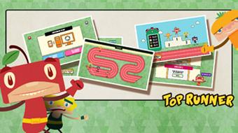 TOP RUNNER - App Game Solution