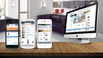 Go-organize.com - Mobile Site Solution